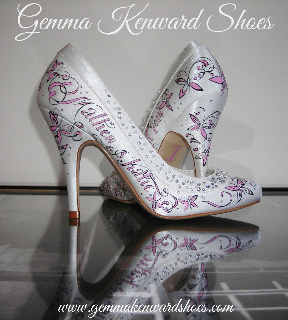 Katie's hand painted bridal shoes.JPG
