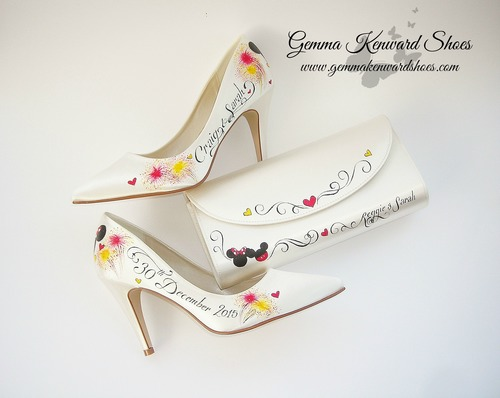 Calling all Disney Fans! Check These Wedding Shoes Out!