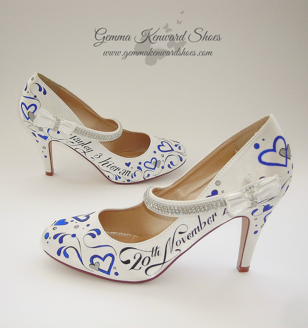Personalised bridal mary jane shoes.JPG