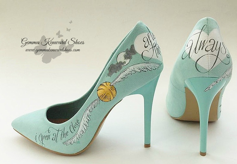 Customised Harry potter Wedding Shoes
