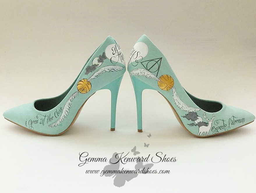 Petronus Harry Potter wedding shoes