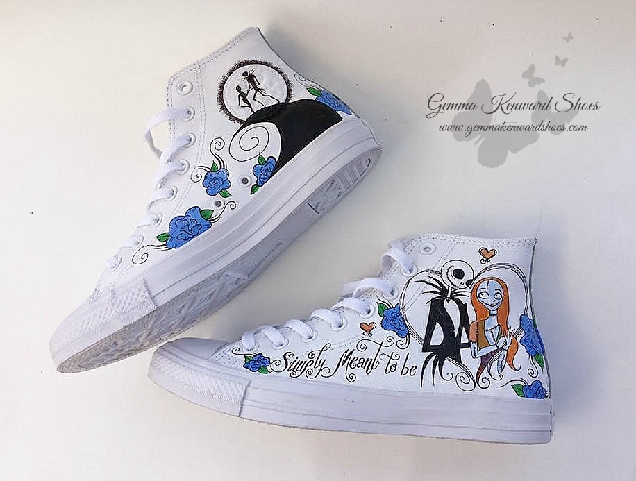 0c3fbe8e06f10 Alternative Brides! We have some Nightmare Before Christmas Converse ...