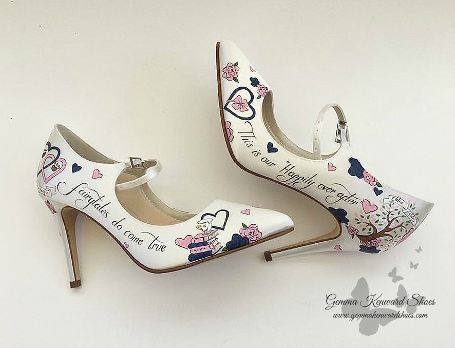 Fairtale wedding hand painted wedding shoes.jpg