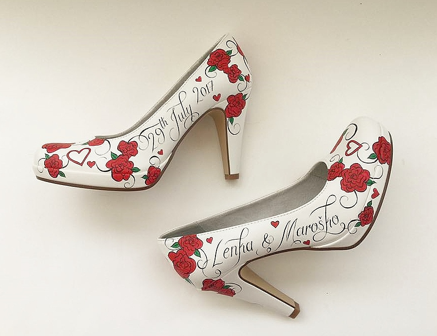 Hand painted customised red roses shoes.jpg