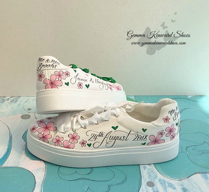Hand painted pink wedding Vans.jpg