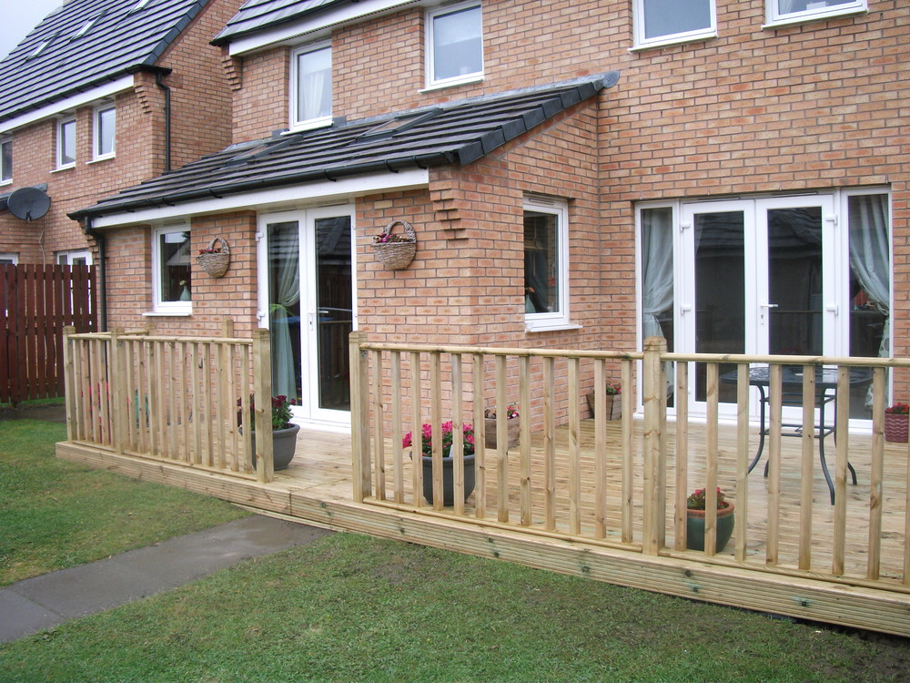 decking west lothian