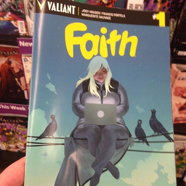 #flylikefaith #valiantcomics #faith #betterlatethannever