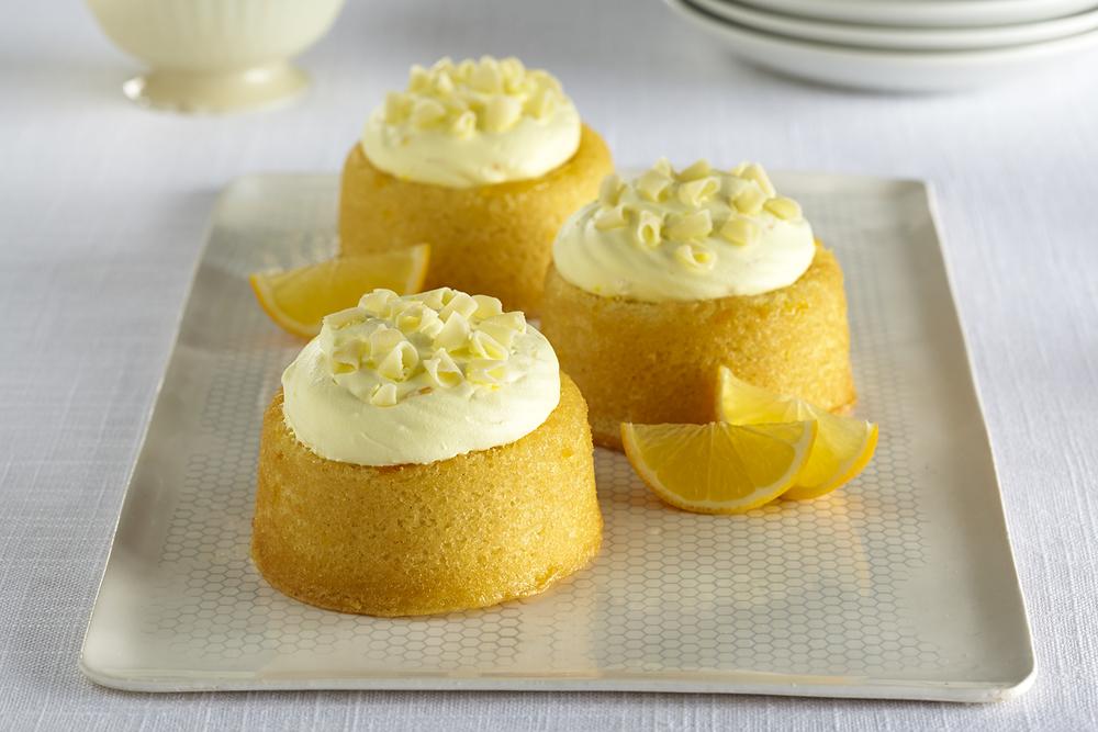 Culinary Secrets Lemon Mousse Bundt Cake