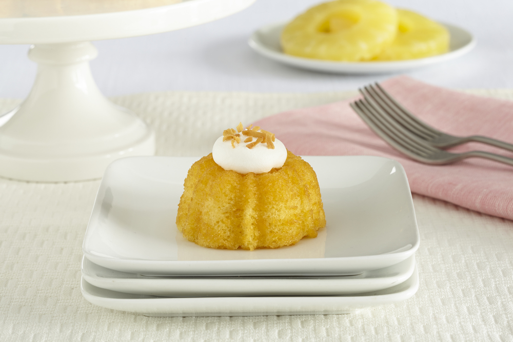 Culinary Secrets Pineapple Miniature Bundt Cake