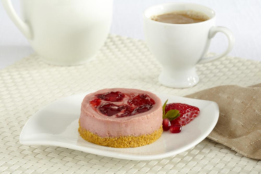 Culinary Secrets Strawberry Pomegranate Individual Torte