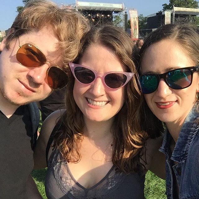 Such an incredible #Riotfest weekend hanging with amazing friends! 💛😎☠️⚡️#riotfest2018 #cantwaittogoback