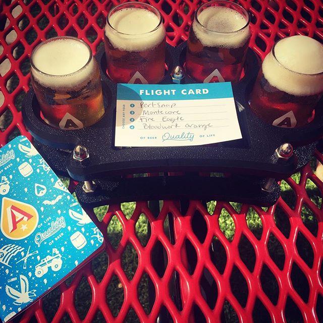 Landed in Austin and drinking before 5 🍻 #livingthegoodlife #Austin #AustinBeerworks #brewery