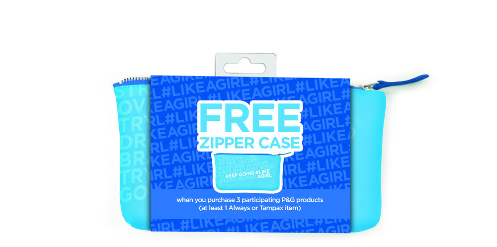 Zipper/Pencil Case in Packaging