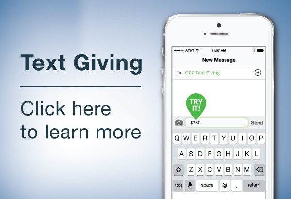 Click the picture above to learn how you can easily text your gift to Berean.