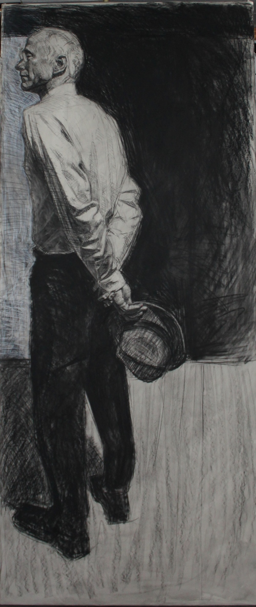 Portrait of the artist's father (lifesize)