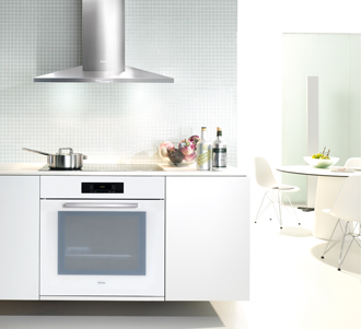 white for the serious home chef by Miele