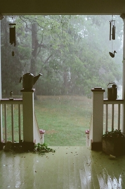 Welcoming a Rainy Day