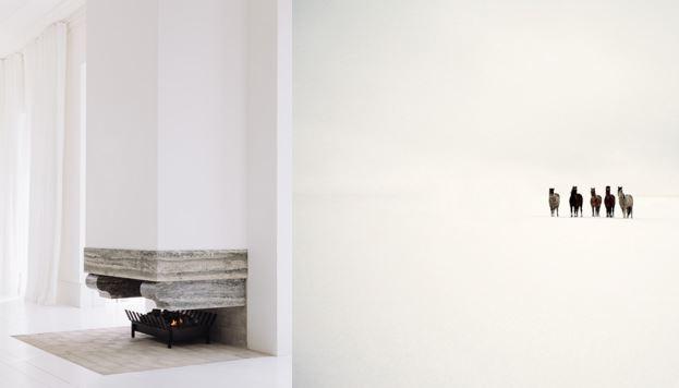 Slate fireplace via Fearon Hay Architects New Zealand