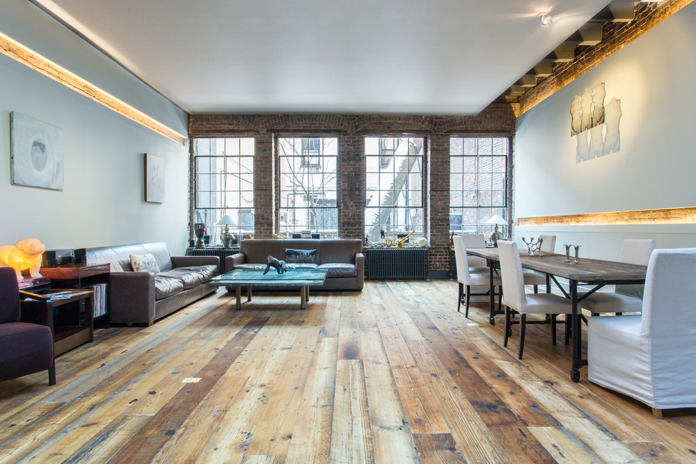 Sustainable Hardwood Flooring And Reclaimed Wood Designed In Brooklyn Made New York
