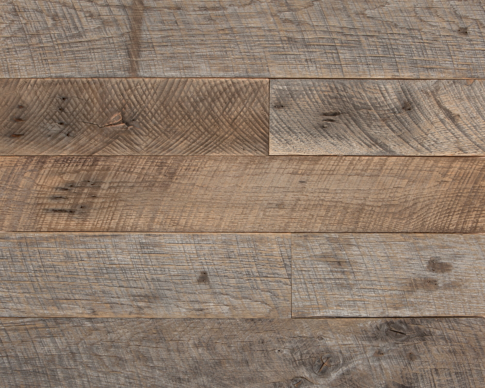 See installation images of Weathered Pallet Oak > Manhattan Avenue Townhouse, Sweetgreen TriBeCa