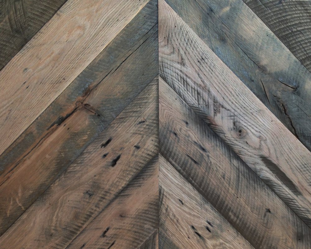 Pallet Oak Chevron