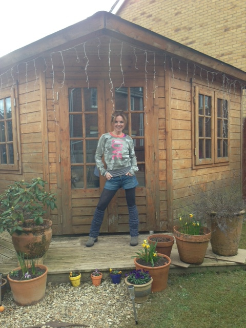 The magic shed!