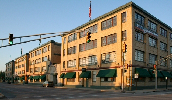 Our offices are located in the historic Stutz Business Center