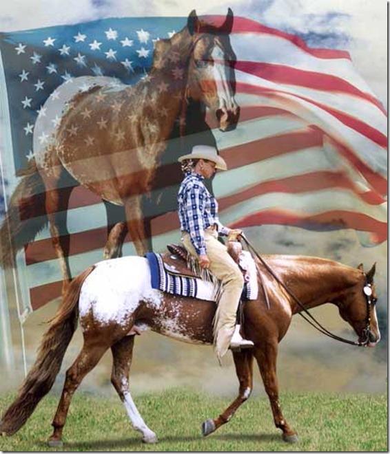 LeRoy, Jeanie and American Flag[3].jpg