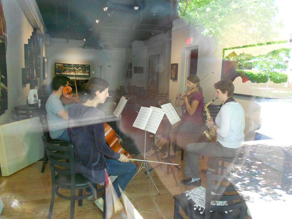 rehearsing at tofa