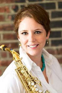 Adrianne Honnold, saxophone