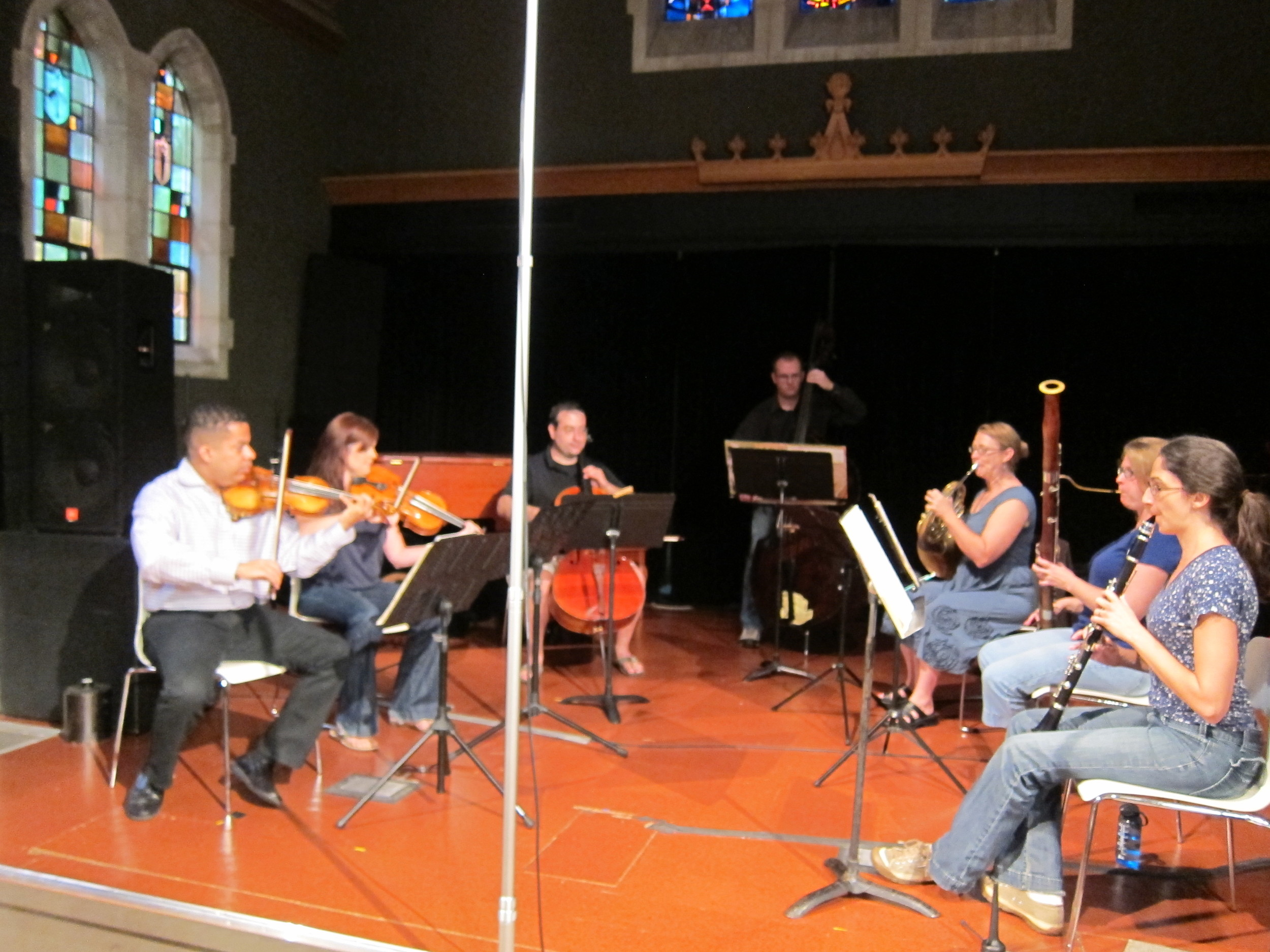 Rehearsing Beethoven