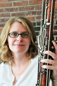 Melissa Mackey, bassoon