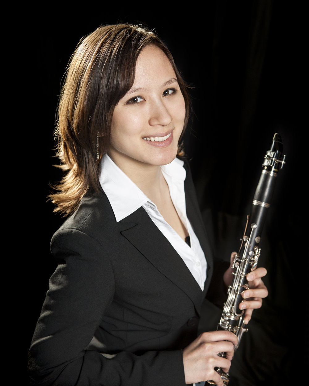 Composer and clarinetist Stephanie Berg
