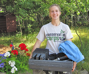 Catilin Daudt Memorial. Read about the memorial for Catilin Daudt, 2014 apprentice at Crow Wing County SWCD.