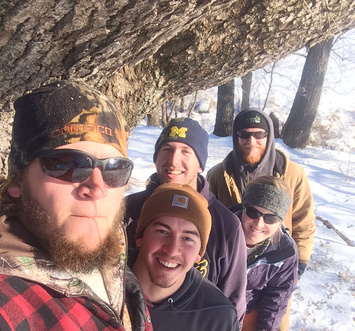 During January, Rich Wehmeyer, Derrick Barnes, Kyle Mooney, Hayley Noneman and Matt Roberts are serving on an interim crew in Iowa.
