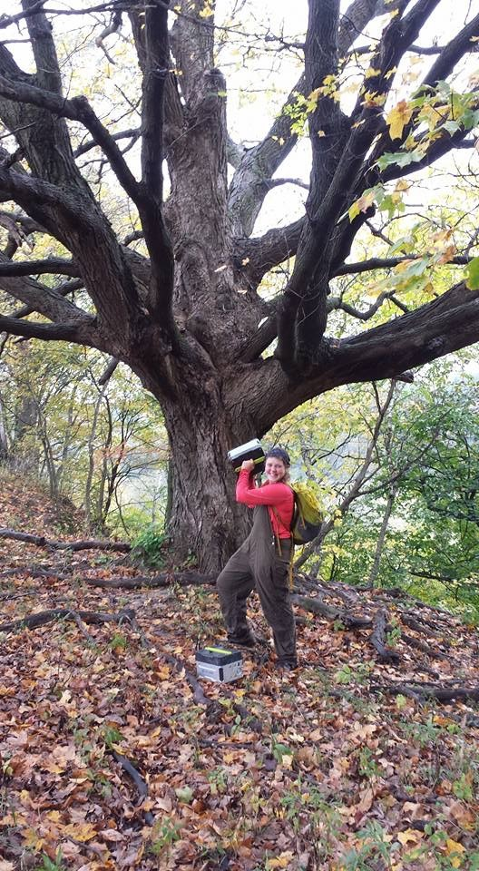 Amy looking fierce and victorious with a y   
