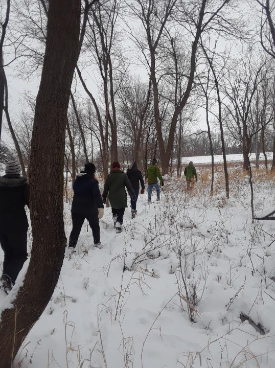 DNR IP's touring a local SNA (Scientific Natural Area)