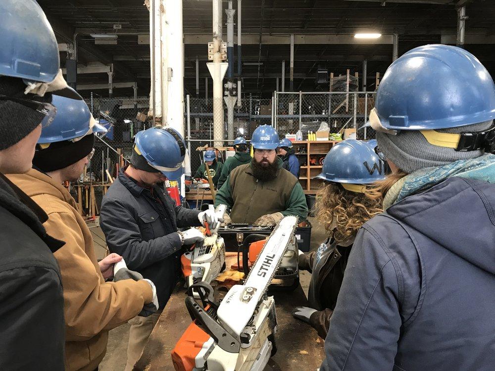 Chainsaw training 2.JPG