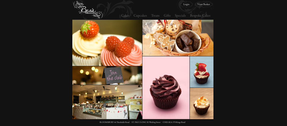 Bea's of Bloomsbury Website