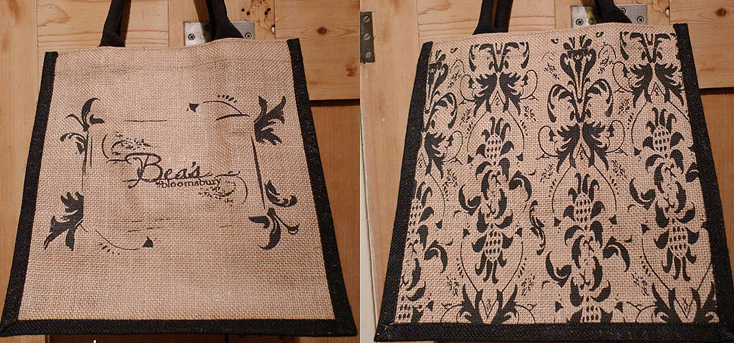 Bea's of Bloomsbury Jute Bag