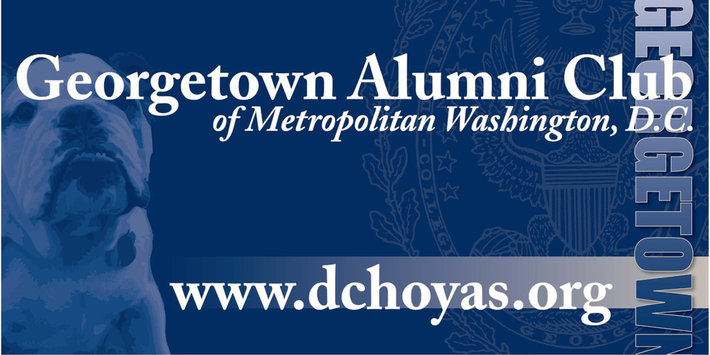 Georgetown Alumni Club Sign