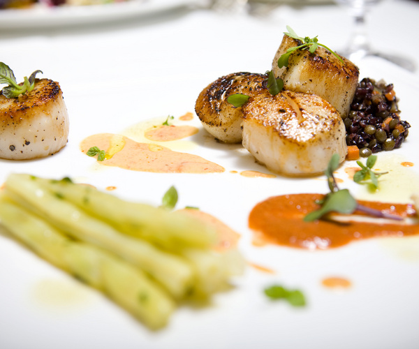 Seared Atlantic Scallops