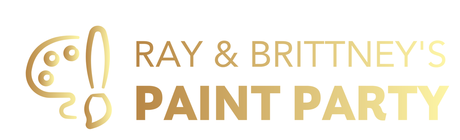 RAY & BRITTNEY'S PAINT PARTY