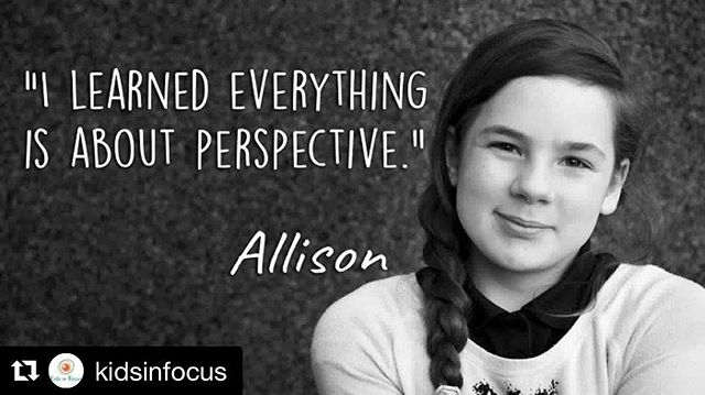 We asked the kids what they thought after the program and this is what they said... It really is, Allison! Find the beauty in the most simplest things and you'll learn how to live a little easier 🥰 #kidsinfocus #nonprofitphotography #phoenixvolunteers