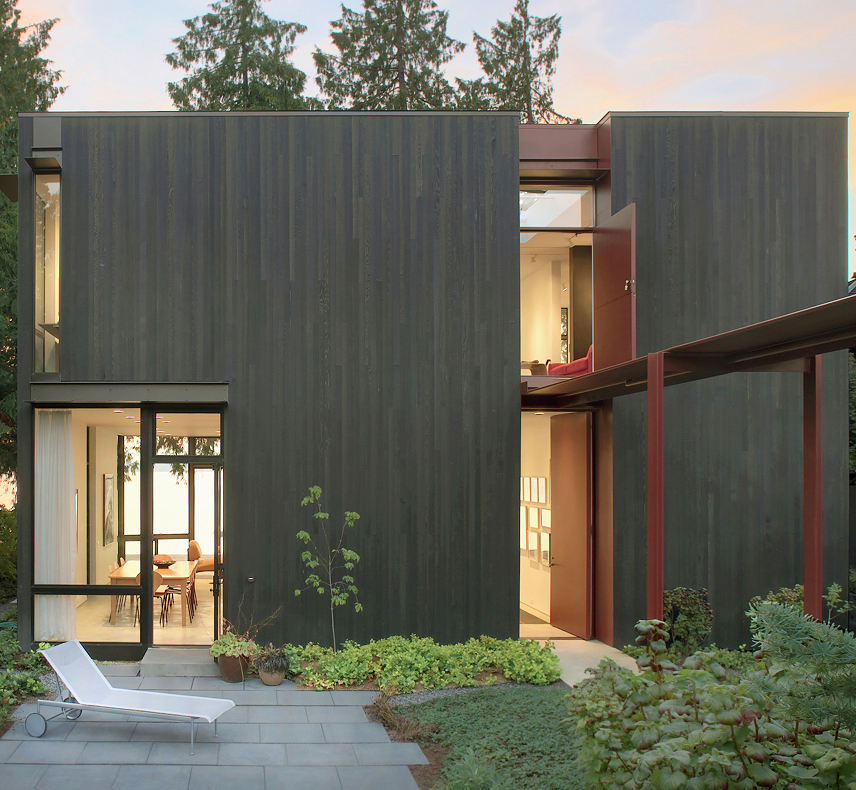 Tansu House: Tom Kundig, Olson Kundig, AIA Commendation Award, photo: Michael Burns