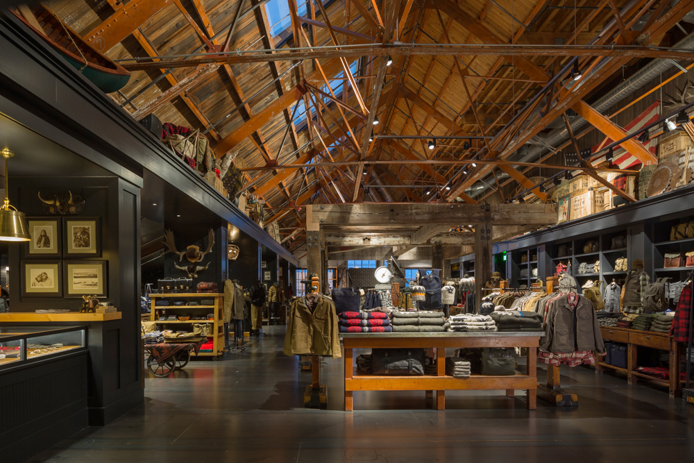 Filson Flagship Store: Heliotrope Architects, photo: Lara Swimmer