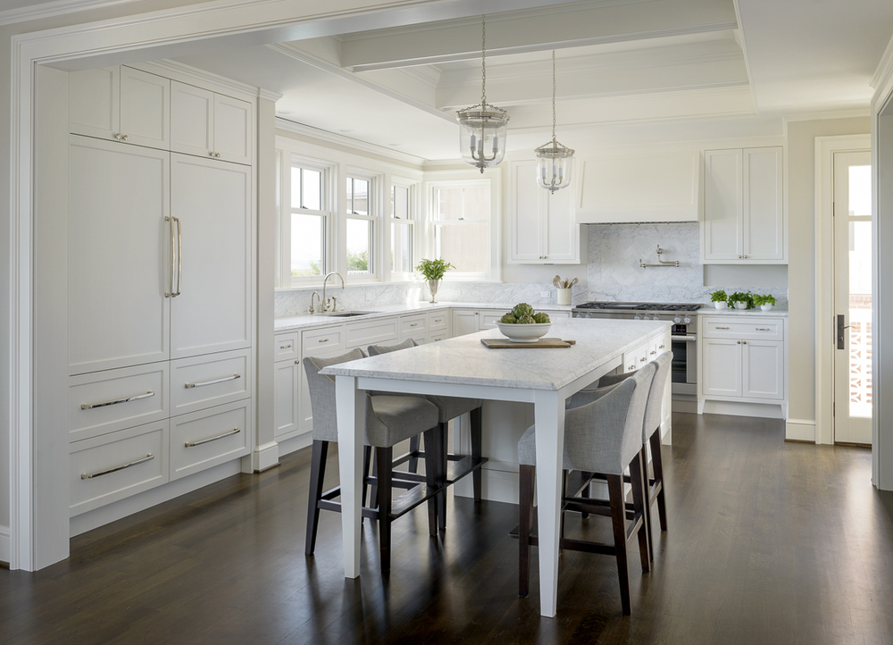 Magnolia Ridge Residence | Custom Kitchen With Marble Tile And Counter  Topsu0026nbsp; Architecture: Studio