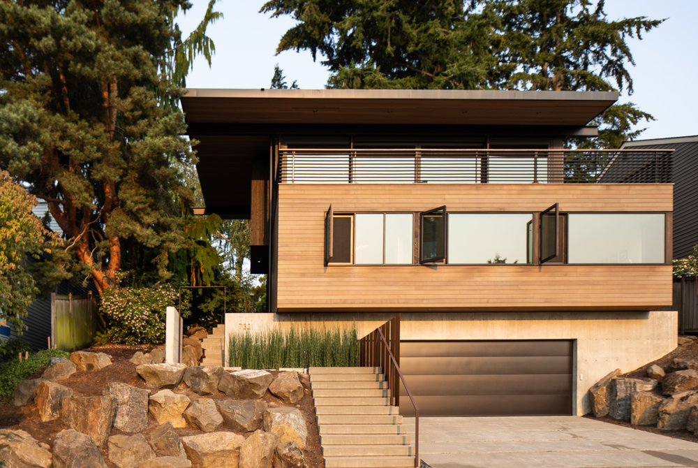 View Ridge Residence // Architecture:  Heliotrope Architects   New residential construction in Seattle. (photo: Sean Airhart)