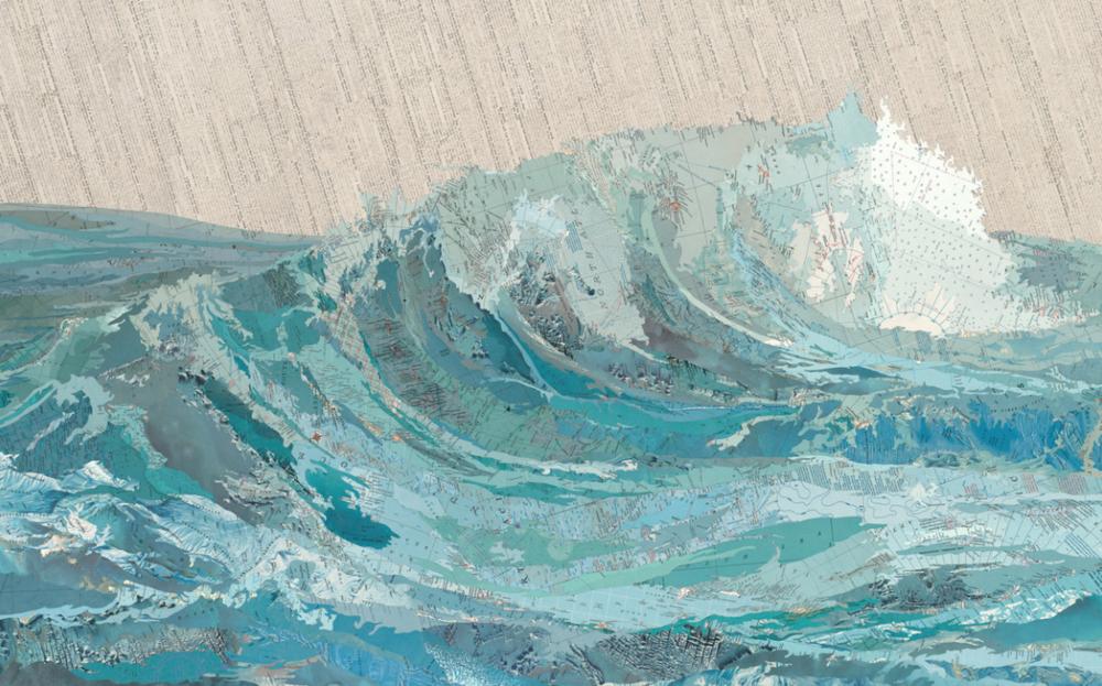 Matthew Cusick/ Cat's Wave, 2015