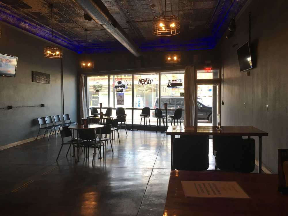 Current interior view of The Hangout Bar on Broadway in downtown Cape Girardeau, MO.